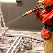 Пескоструйная-обработка металла